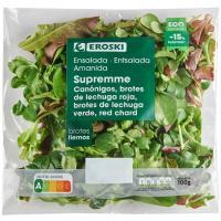 Ensalada de Brotes Supremme EROSKI, bolsa 100 g