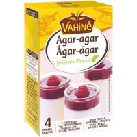 Agar gelatina vegetal VAHINÉ, caja 8 g