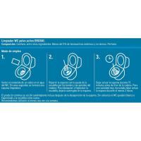Limpiador wc polvo activo EROSKI, 6 uds, caja 330 g