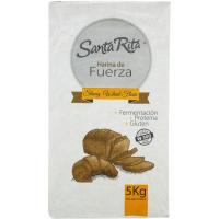 Harina gran fuerza SANTA RITA, paquete 5 kg