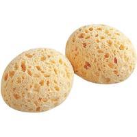 Esponja natural, hipoalergénica, hecha de fibra vegetal y algodón TIGEX, 2uds