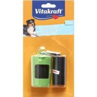 Dispensador de bolsas VITAKRAFT, pack 1 unid. + bolsas 40 unid.
