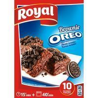 Brownie Oreo ROYAL, caja 375 g