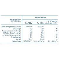 Yogur desnat. natural edulcorado DANONE Vitalínea, pack 4x120 g