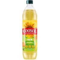 Aceite de girasol especial para freir COOSOL, botella 1 litro