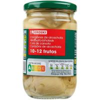 Alcachofa 10/12 frutos EROSKI, frasco 175 g
