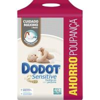 Toallitas DODOT Sensitive, pack 4x54 unid.