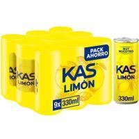 Refresco de limón KAS, pack 9x33 cl