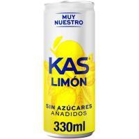 Refresco de limón KAS Zero Azúcar, lata 33 cl