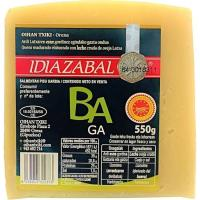 Queso natural D.O. Idiazabal BAGA, cuña 550 g