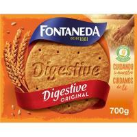 Galleta Digestive FONTANEDA, caja 700 g