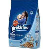 Alimento seco para perro junior BREKKIES, saco 3 kg