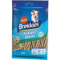 Snack Total Dent para perro mini BREKKIES, paquete 110 g