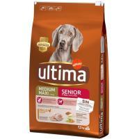 Alimento para perro senior +7 años ULTIMA, saco 7,5 Kg
