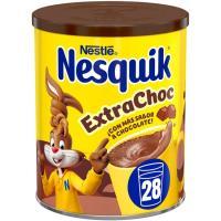 Cacao en polvo extra de chocolate NESQUIK, bote 390 g