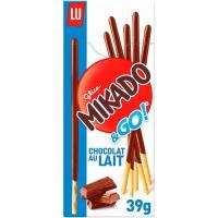 Mikado de leche MIKADO, caja 39 g