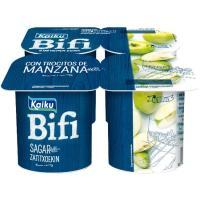 Bifi con manzana KAIKU, pack 4x125 g