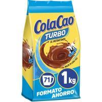Cacao en polvo COLACAO Turbo, ecobolsa 1 kg