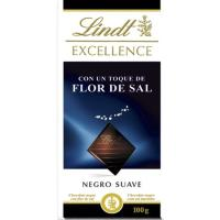 Chocolate con sal LINDT Excellence, tableta 100 g
