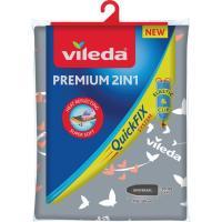Funda de planchar Premiun 2 en 1, 3 capas VILEDA, 135x45cm