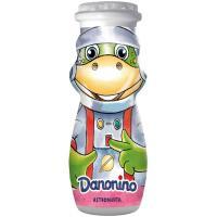 Bebedino de fresa DANONE, pack 4x100 ml