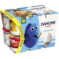 Yogur natural DANONE, pack 12x125 g