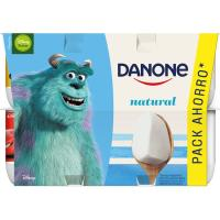Yogur natural DANONE, pack 12x120 g