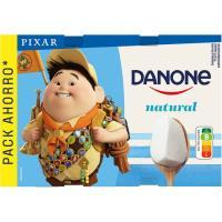 Yogur natural DANONE, pack 12x120 g