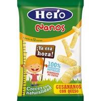 Nano gusananos de queso HERO, bolsa 15 g