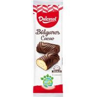 Búlgaros de cacao DULCESOL, 5 uds, paquete 175 g