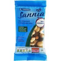 Mix de frutos secos con vitamina E EROSKI Sannia, bolsa 75 g