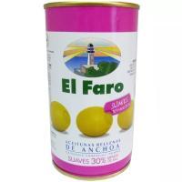 Aceitunas rellenas suave FARO, lata 150 g