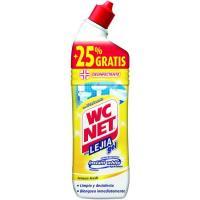 Lejía gel limón WC NET, botella 750 ml
