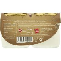 Cuajada de oveja GOSHUA, pack 2x125 g