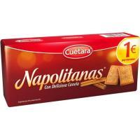 Napolitana CUÉTARA, caja 213 g