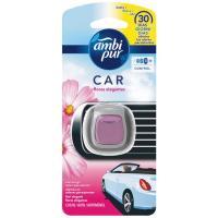Ambientador coche desechable fresccor floral AMBIPUR, pack 1 ud