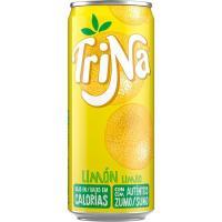 Refresco de limón sin gas TRINA, lata 33 cl