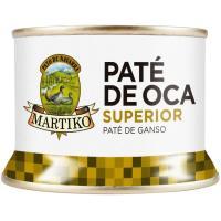 Paté de hígado de oca superior MARTIKO, lata 130 g