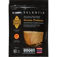 Queso rallado Grana Padano Eroski SELEQTIA, bolsa 100 g
