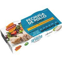 Pechuga de pollo al natural CASA MATACHIN, pack 2 x 58 g