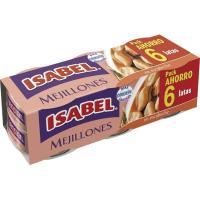 Mejillón en escabeche ISABEL, pack 6x80 g