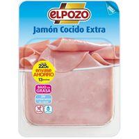Jamón cocido extra ELPOZO, bandeja 250 g