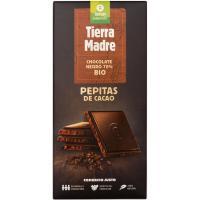 Chocolate negro 70% con pepitas OXFAM, tableta 100 g