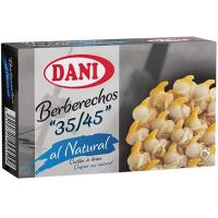 Berberecho 35/45 piezas DANI, lata 58 g