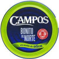 Bonito en aceite de oliva CAMPOS, lata 160 g