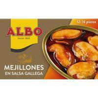 Mejillón en salsa gallega 12/16 piezas ALBO, lata 115 g