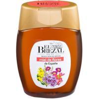 Miel de flores EL BREZAL, frasco 350 g