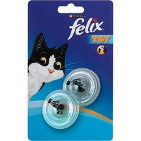 Juguete pelota giratoria transparente FÉLIX, pack 1 unid.