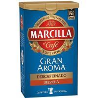 Café molido mezcla descafeinado MARCILLA, click pack 200 g