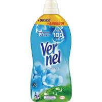 Suavizante concentrado azul VERNEL, botella 76 dosis